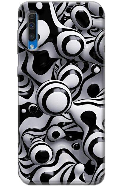 Noprin Samsung Galaxy A50 Kılıf Silikon Baskılı Desenli Arka Kapak