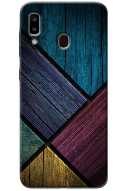 Noprin Samsung Galaxy A20 Kılıf Silikon Baskılı Desenli Arka Kapak