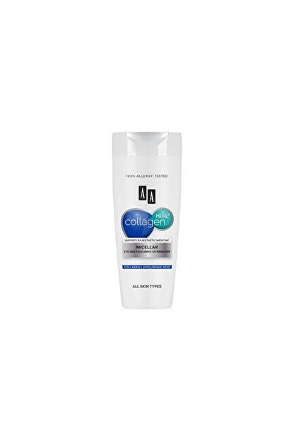 AA Cosmetics AA Collagen HIAL+  Misellar Göz ve Yüz Makyaj Temizleyicisi 200ml
