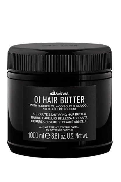 Davines Oi/Oil Butter Pürüzsüzleştirici Saç, Vucüt Bakım Kremi 1000 ml