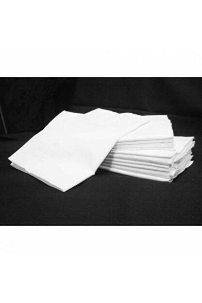 ATA HOME 10 Adet Fermuarlı Beyaz Renk Yastık Kılıfı 50x70 Cm