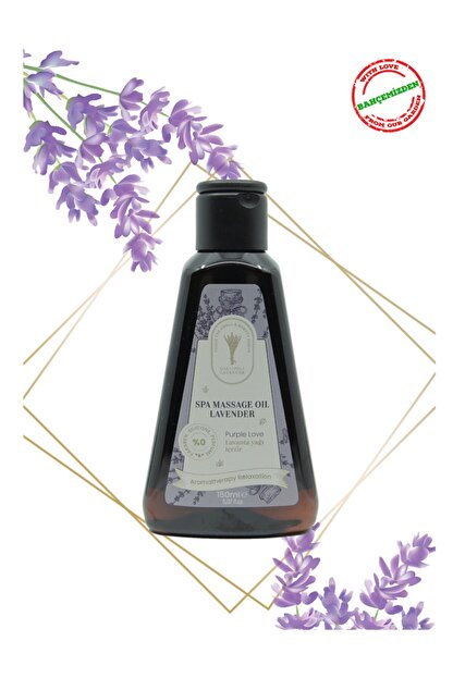 Gallipoli Lavender Lavanta Yağlı Masaj Yağı 150 Ml Rahatlatıcı Ağrı Hafifletici Bitksel Lavanta Yağı Aroma Terapi Yağ