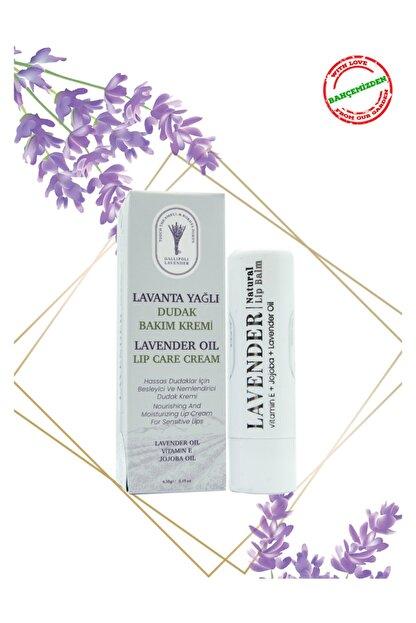 Gallipoli Lavender Lavanta Yağlı Dudak Bakım Kremi Kuru Ve Çatlamış Dudaklar Için Dudak Balm Yoğun Bakım Nemlendirici