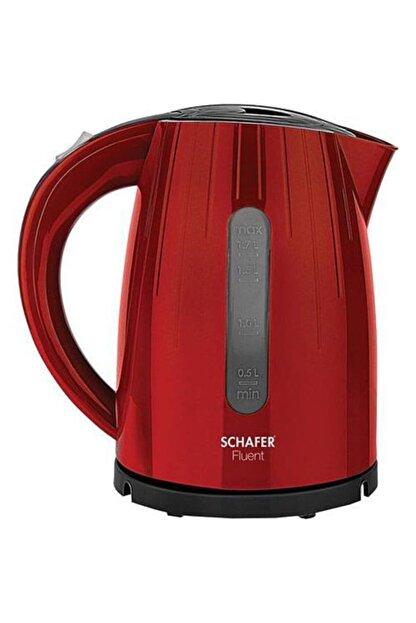 Schafer Fluent 2200 W 1.7 Lt Kırmızı Su Isıtıcı 1s221-25003-kmz01