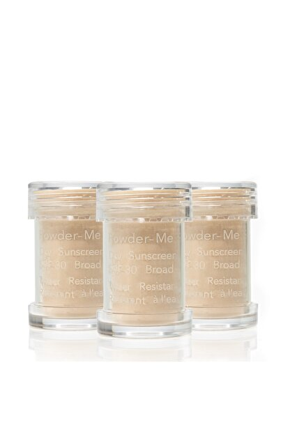 Jane Iredale Powder-me® Spf30 Dry Sunscreen -refill 3-pack -yüz Ve Vücut Pudrası # Nude 3*2,5 Gr.