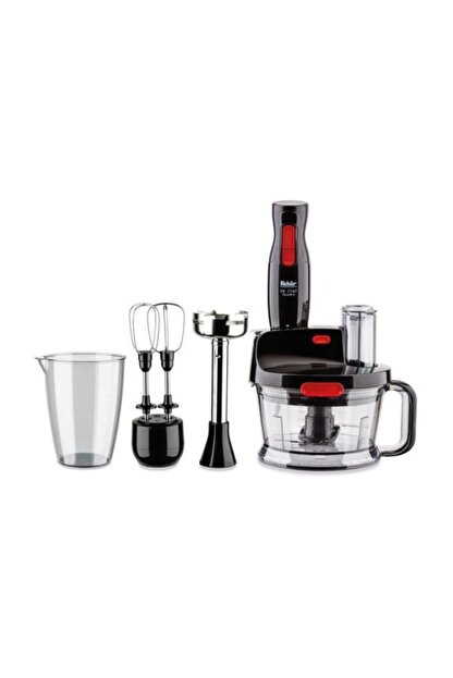 Fakir Mr Chef Quadro Blender Set Siyah