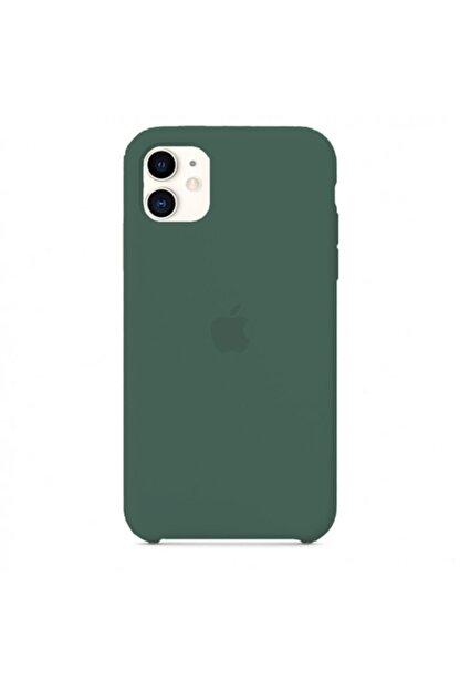 Manka Store Çam Yeşili Iphone 11 Uyumlu Lansman Kılıf