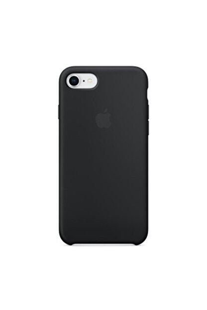 Manka Store Siyah Iphone 7 / 8 Uyumlu Lansman İçi Kadife Kılıf