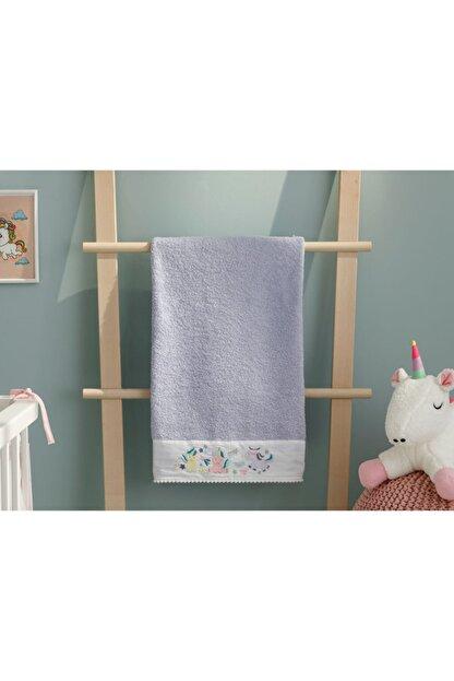 English Home Mini Unicorn Bebe Banyo Havlusu 70x130 Cm Lila