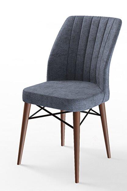 Canisa Concept Flex Serisi Füme Renk Ayaklı Sandalye