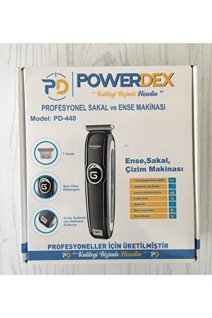 powerdex Traş Makinası Saç Ve Sakal Profosyonel Kaliteli Sessiz Motor Ve Sıfır Bıçak Seti