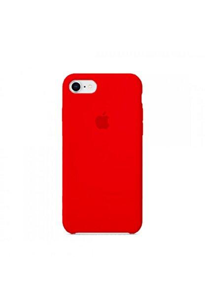 Manka Store Produck Kırmızı Iphone 7 / 8 Uyumlu Lansman İçi Kadife Kılıf
