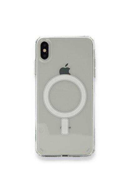 SENKA Iphone X Uyumlu Magsafe Özellikli Şeffaf Kılıf