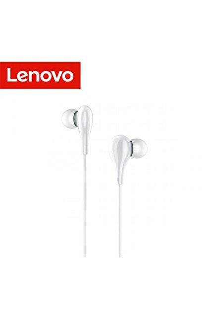 LENOVO Hf160 3,5mm Jack Kablolu Mikrofonlu Kulaklık Beyaz
