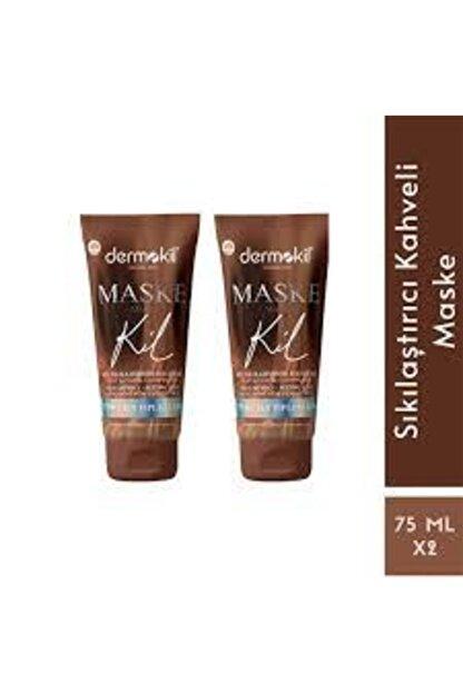 Dermokil Kahve Kil Sıkılaştırıcı Maske 75 Ml 2 Li