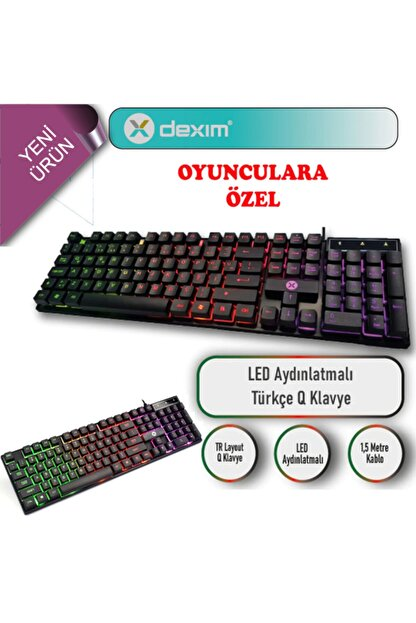 Dexim Kbl322 Gaming Klavye Dka004