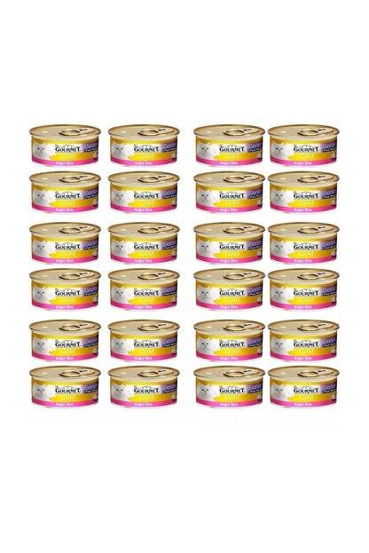 Gourmet Gold Perle Kıyılmış Sığır Etli Kedi Konservesi 85 gr 24 Adet