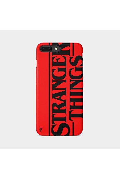 Roxo Case Iphone 7 Plus Baskılı Kırmızı Lansman Kılıf