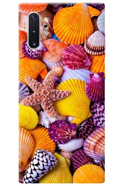 Turkiyecepaksesuar Samsung Galaxy Note 10 Plus Kılıf Silikon Baskılı Desenli Arka Kapak