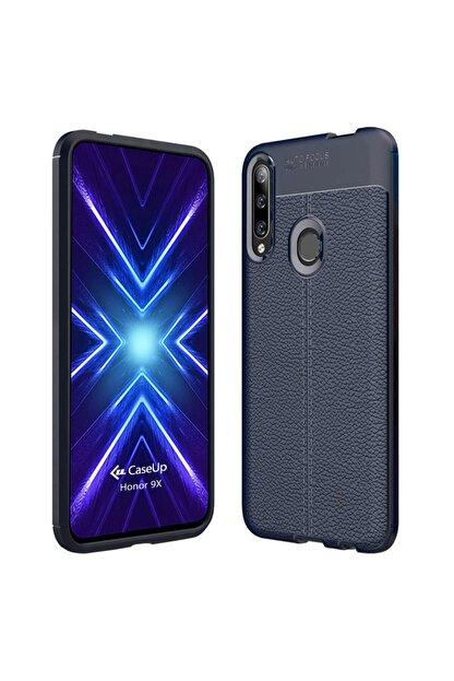 CaseUp Huawei Honor 9x Kılıf, Niss Silikon Lacivert