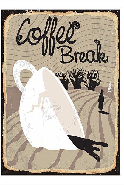 Tablomega Kahve Arası Dekoratif Mdf Tablo 35cm X 50cm