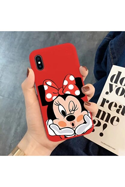 Mobildizayn Galaxy A20s Minnie Mouse Desenli Kılıf