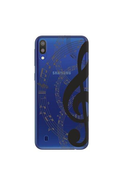 cupcase Samsung Galaxy M10 Kılıf Hd Silikon Koruma Doremifa Kapak + Nano Cam