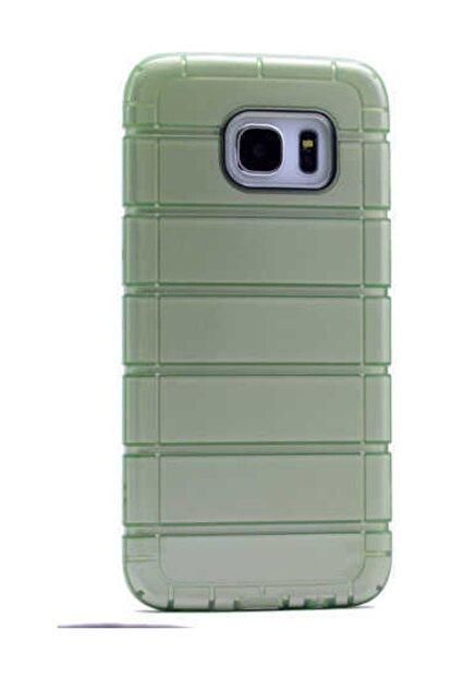Zore Galaxy S6 Edge  Çizgili Motomo Kapak  Kılıf