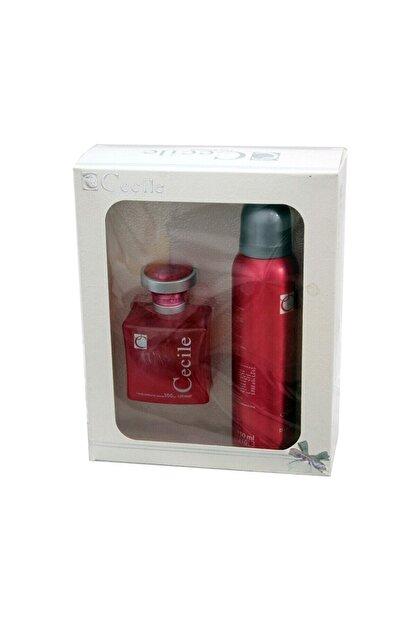 Cecile Amor Edt 100 Ml + Deodorant 150 Ml Kadın Parfüm Seti 8698438501071