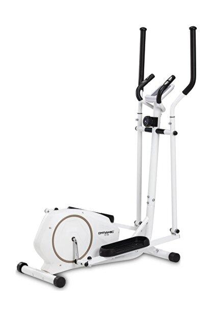 Dynamic E16 White Premium Manyetik Eliptik Bisiklet
