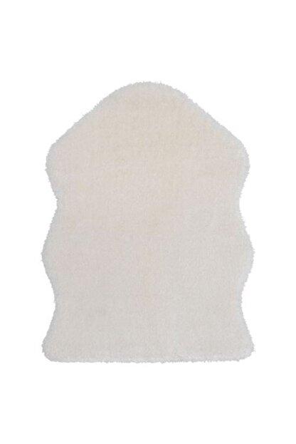 IKEA Yumuşak Dekoratif Halı 55x85 Cm Beyaz