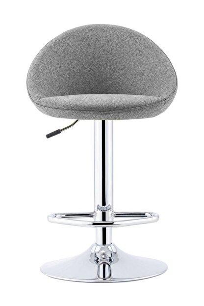 Sandalye Online Rena Ayarlanabilir Bar Sandalyesi Gri