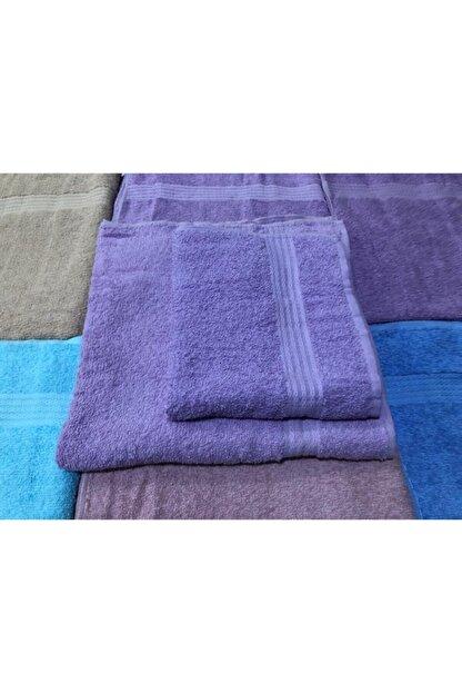 MAVİYELKEN HOME Havlu Seti Banyo Havlusu El-yüz Havlusu %100 Pamuk'lu 2'li Analı Kızlı Havlu