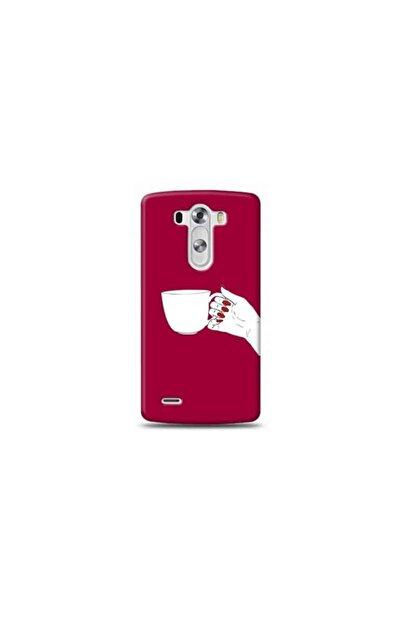 Ren Geyik Lg G3 Mini Kahve Mor Koleksiyon Telefon Kılıfı Ymtrklf022
