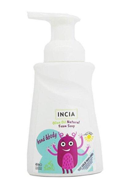 INCIA Çocuklar Için Zeytinyağlı Doğal Köpük Sabun 200 ml
