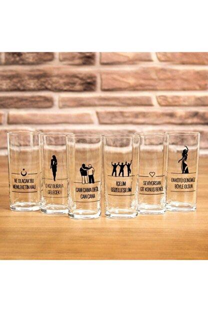 Paşabahçe 6 Lı Içelim Rakı Bardağı Seti