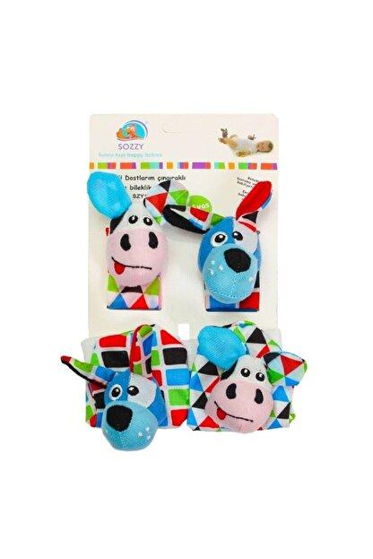 Sozzy Toys Toys Çıngıraklı Çorap Ve Bileklik Seti - Szy120