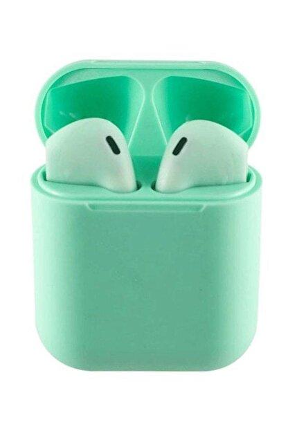 Tws Airpods I12 Yeşil Iphone Android Universal Bluetooth Kulaklık Hd Ses Kalitesi