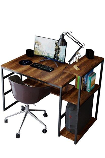 Nsade Kahverengi Çalışma Bilgisayar Masası