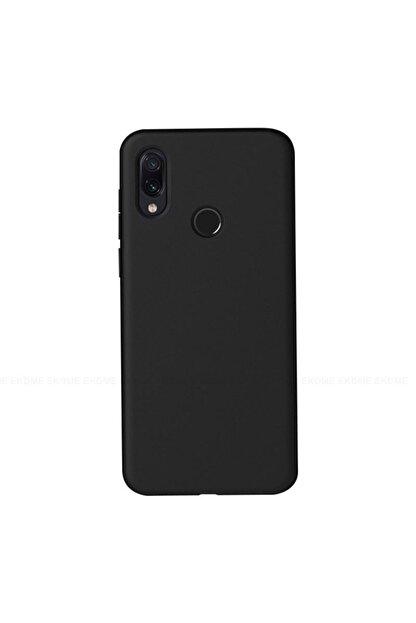 hande iletişim Xiaomi Redmi Note 7 Siyah Içi Kadife Suet Lansman Kılıf
