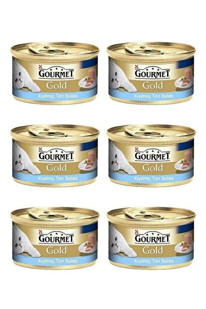 Gourmet Gold Kıyılmış Ton Balıklı Kedi Yaş Maması 85 gr x 6 Adet