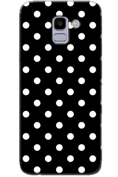 Noprin Samsung Galaxy J6 Kılıf Silikon Baskılı Desenli Arka Kapak
