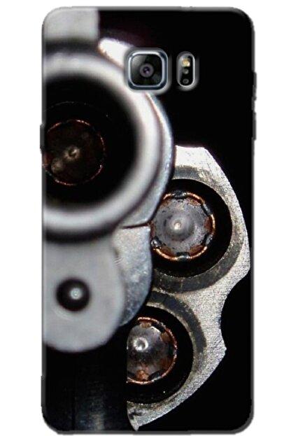 Noprin Samsung Galaxy Note 5 Kılıf Silikon Baskılı Desenli Arka Kapak