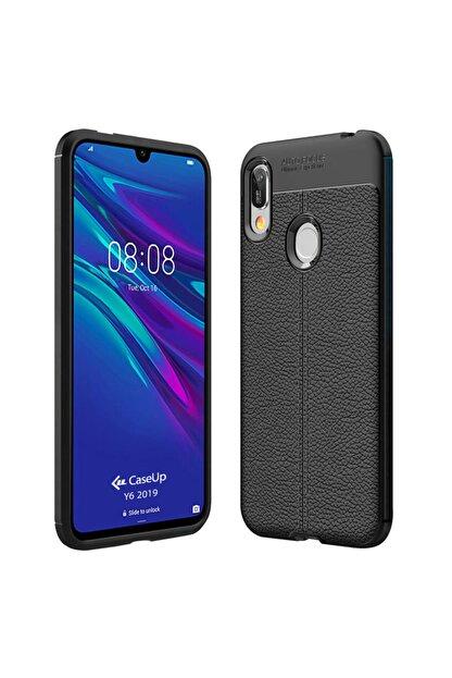 CaseUp Huawei Y6 2019 Kılıf, Niss Silikon Siyah