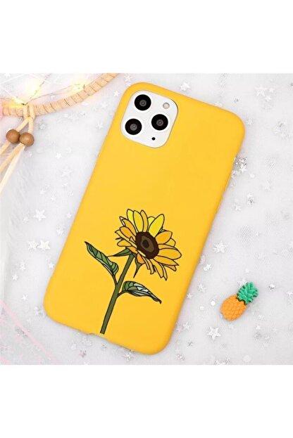 Mobildizayn Apple Iphone 5/5s Ayçiçeği Desenli Kılıf