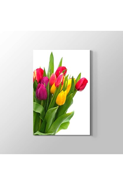 TabloHane Flower Kanvas Tablo
