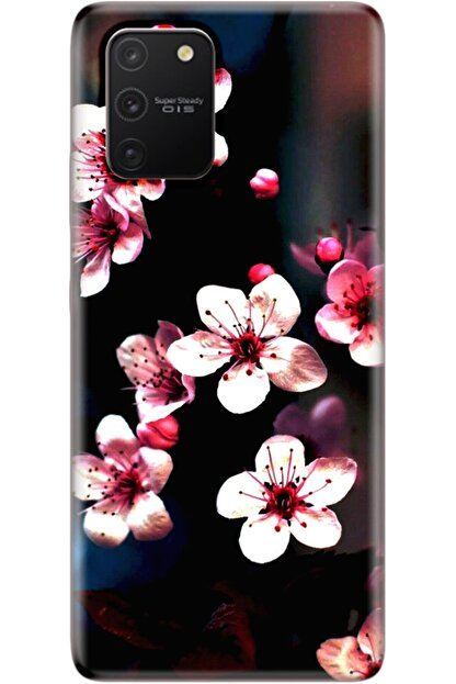 Noprin Samsung Galaxy S10 Lite Kılıf Silikon Baskılı Desenli Arka Kapak