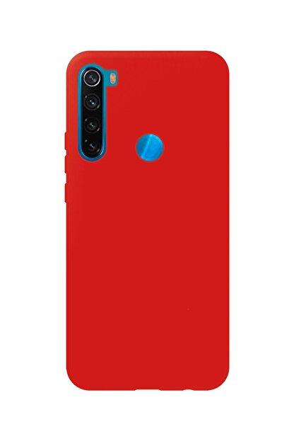 Prasmet Xiaomi Redmi Note 8 Cappy Silikon - Microfiber Kaplama Pastel Renkler