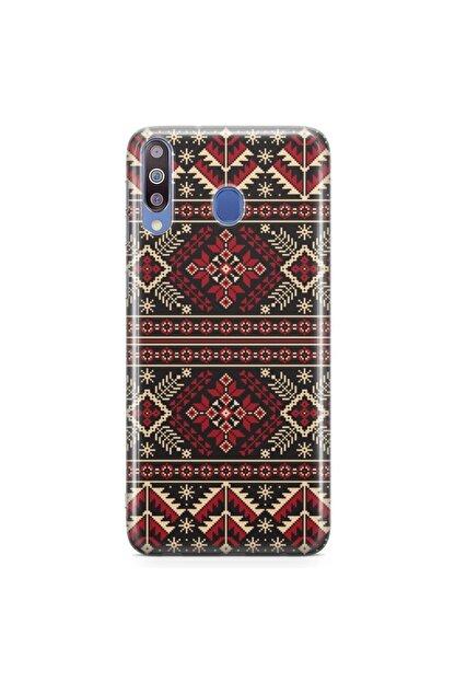 Zipax Samsung Galaxy M30 Kılıf Motif 001 Desenli Baskılı Silikon Kilif - Mel-105713