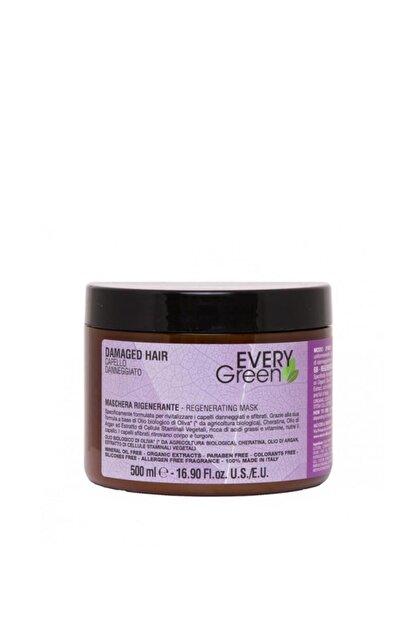 EveryGreen Damaged Hair Yıpranmış Saçlar Için Yenileyici Maskesi 500 Ml